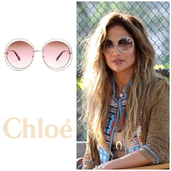 6eeccd311cbf 🆕Chloé Round Oversized Sunglasses